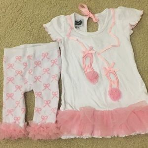 Mud Pie Ballerina Outfit